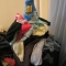 Mountain of laundry
