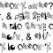 note written in personal alphabet