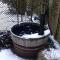 Snow in the garden...