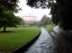 Bournemouth gardens in the rain