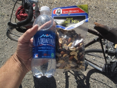 Trail mix & Water!