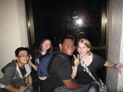 Norris, Vanessa, Daniel & Allison