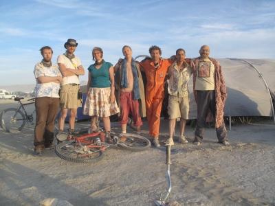 At Burning Man