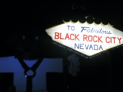 Flat Stanley in Black Rock City
