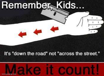 Remember, Kids...