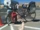 M'bike at the car wash