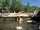 River bath
