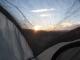 Sunset through my tent