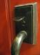 Button type doorknob