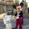 Here I am with Mickey Mouse at Disneyland.