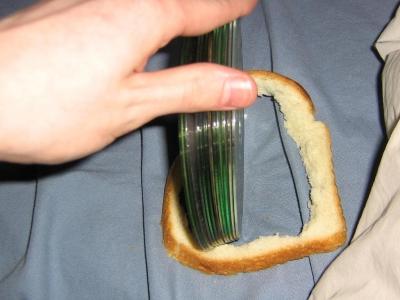 CDs in crust