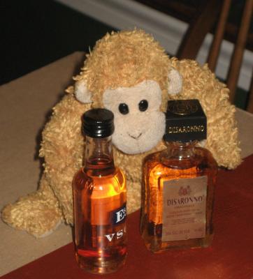 Fumbles the Bartender Monkey