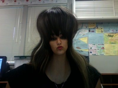 oh my god!! my head is huge!!!
