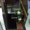 vintage '60's brass clock parts