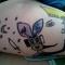 Ang's leg, Jay's drawing