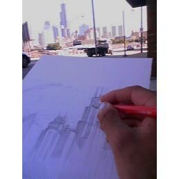 sketching away