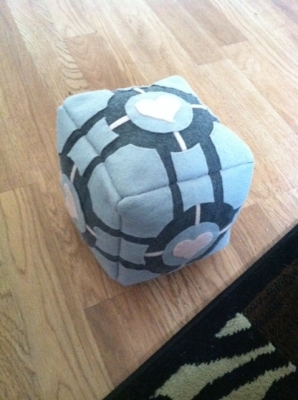 Completed Companion Cube!