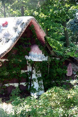 enchanted forest candy house, sept 08