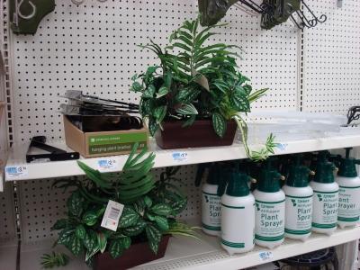 More Fake Plants!