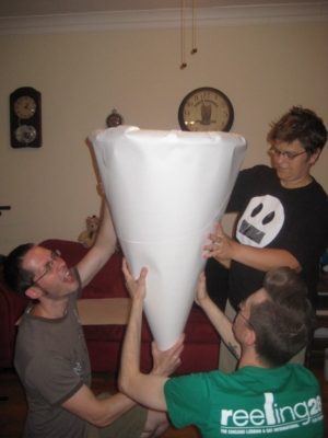 completed large cone