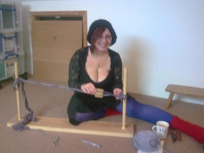 watch me weave!!