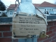Tom: Lamp post, all plaque'd up.