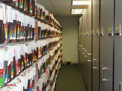The file room at W&D