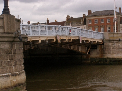 1 - Haven Bridge as seen from Ice House Quay