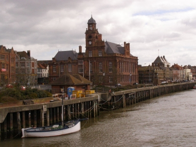 1- The Town Hall and South Quay from Haven Bridge