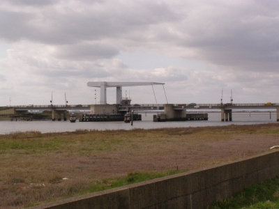 3 - Breydon Bridge seen from the riverside path