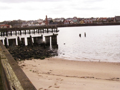 6 - Looking over from the secret beach to Gorleston where I go to college