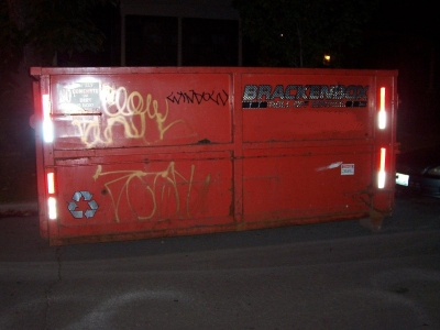 Evil Dumpster
