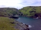 Tintagel Bay and Castle