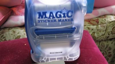 Ye ol' magic sticker maker