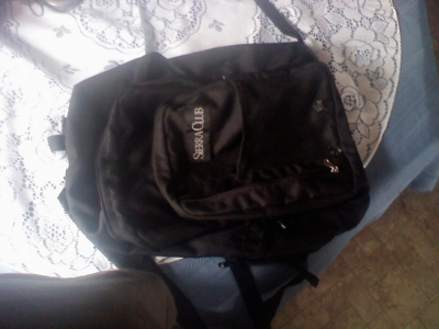 Backpack, empty