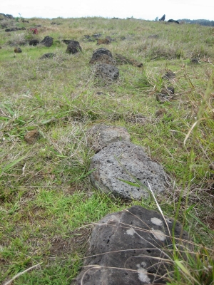Boundary stones