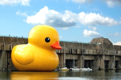 To honor the rubber duck!