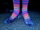 Lucky shoes and raver socks