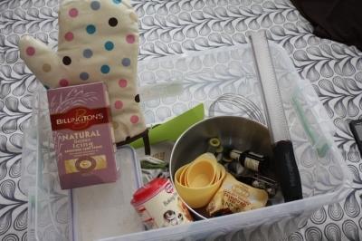 the baking box
