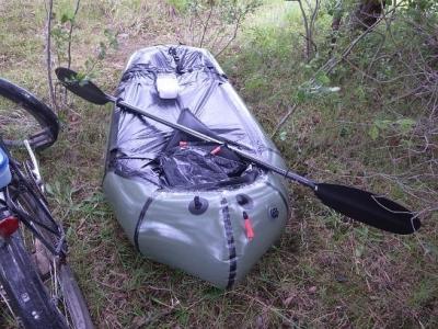 Packraft is waterproof too.