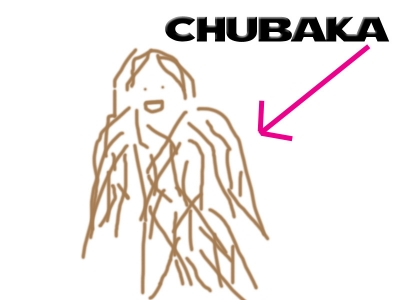Chubaka drawing