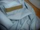 Velcro blue shirt inside